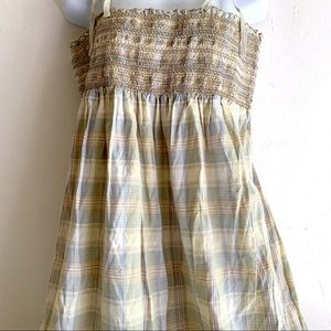 Mossimo Supply Co. Dresses - Cotton TUBE Top Maxi Peasant Dress Shoulder Ties